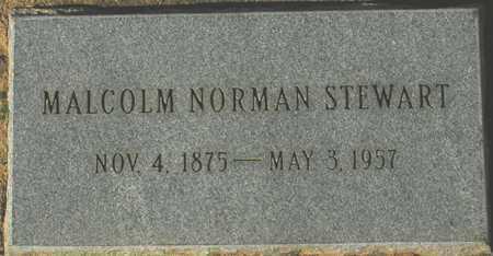 STEWART, MALCOLM NORMAN - Maricopa County, Arizona | MALCOLM NORMAN STEWART - Arizona Gravestone Photos
