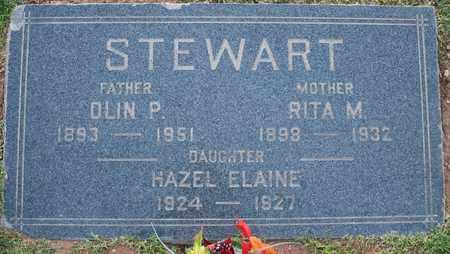 STEWART, HAZEL ELAINE - Maricopa County, Arizona | HAZEL ELAINE STEWART - Arizona Gravestone Photos