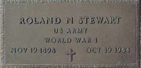 STEWART, ROLAND N. - Maricopa County, Arizona | ROLAND N. STEWART - Arizona Gravestone Photos