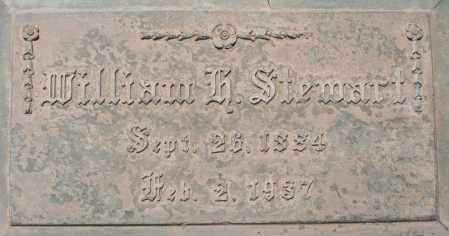 STEWART, WILLIAM H. - Maricopa County, Arizona | WILLIAM H. STEWART - Arizona Gravestone Photos