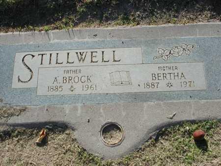 STILLWELL, BERTHA - Maricopa County, Arizona | BERTHA STILLWELL - Arizona Gravestone Photos