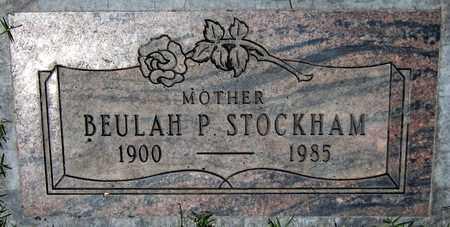 STOCKHAM, BEULAH P. - Maricopa County, Arizona | BEULAH P. STOCKHAM - Arizona Gravestone Photos