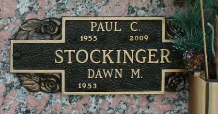 STOCKINGER, PAUL C - Maricopa County, Arizona | PAUL C STOCKINGER - Arizona Gravestone Photos