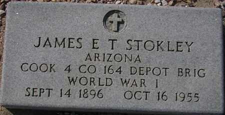 STOKLEY, JAMES E. - Maricopa County, Arizona | JAMES E. STOKLEY - Arizona Gravestone Photos
