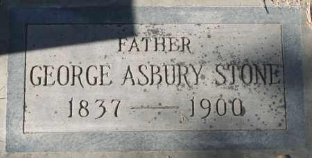 STONE, GEORGE ASBURY - Maricopa County, Arizona   GEORGE ASBURY STONE - Arizona Gravestone Photos