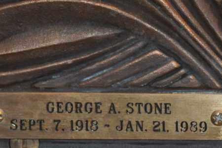 STONE, GEORGE A. - Maricopa County, Arizona | GEORGE A. STONE - Arizona Gravestone Photos