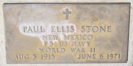 STONE, PAUL ELLIS - Maricopa County, Arizona | PAUL ELLIS STONE - Arizona Gravestone Photos
