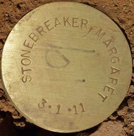 STONEBREAKER, MARGARET - Maricopa County, Arizona | MARGARET STONEBREAKER - Arizona Gravestone Photos