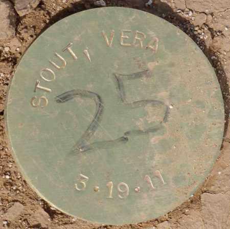 STOUT, VERA - Maricopa County, Arizona   VERA STOUT - Arizona Gravestone Photos