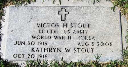 STOUT, VICTOR H. - Maricopa County, Arizona | VICTOR H. STOUT - Arizona Gravestone Photos