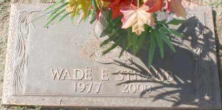 STRAUB, WADE E - Maricopa County, Arizona | WADE E STRAUB - Arizona Gravestone Photos