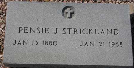 STRICKLAND, PENSIE J. - Maricopa County, Arizona | PENSIE J. STRICKLAND - Arizona Gravestone Photos