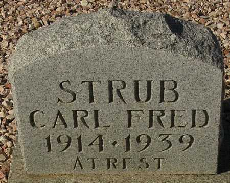 STRUB, CARL FRED - Maricopa County, Arizona | CARL FRED STRUB - Arizona Gravestone Photos