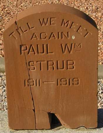 STRUB, PAUL WM. - Maricopa County, Arizona | PAUL WM. STRUB - Arizona Gravestone Photos