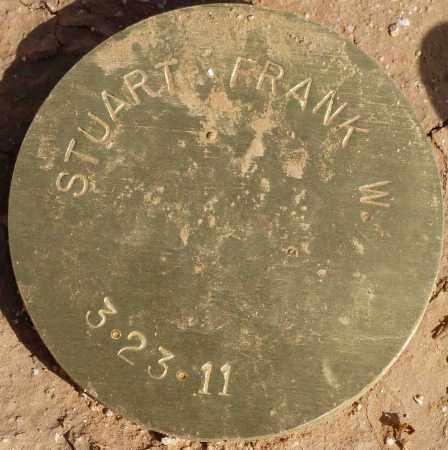 STUART, FRANK W. - Maricopa County, Arizona | FRANK W. STUART - Arizona Gravestone Photos