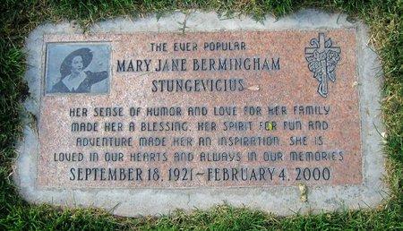 STUNGEVICIUS, MARY - Maricopa County, Arizona   MARY STUNGEVICIUS - Arizona Gravestone Photos