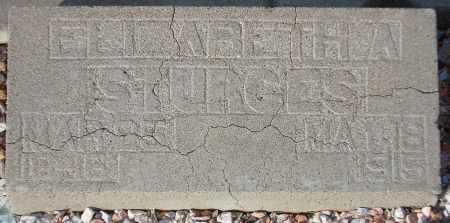 STURGES, ELIZABETH A. - Maricopa County, Arizona | ELIZABETH A. STURGES - Arizona Gravestone Photos