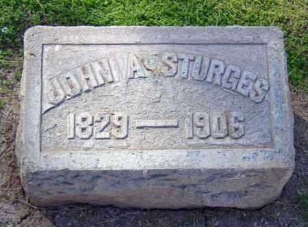STURGES, JOHN A. - Maricopa County, Arizona   JOHN A. STURGES - Arizona Gravestone Photos