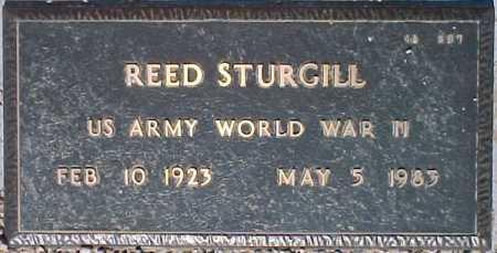STURGILL, REED - Maricopa County, Arizona   REED STURGILL - Arizona Gravestone Photos