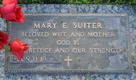 SUITER, MARY E. - Maricopa County, Arizona | MARY E. SUITER - Arizona Gravestone Photos