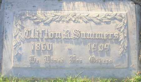 SUMMERS, CLIFTON R - Maricopa County, Arizona | CLIFTON R SUMMERS - Arizona Gravestone Photos