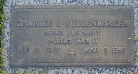 SULLENBARGER, CHARLES L - Maricopa County, Arizona | CHARLES L SULLENBARGER - Arizona Gravestone Photos