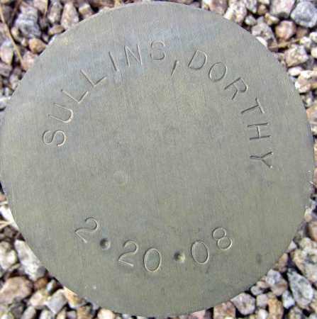 SULLINS, DORTHY - Maricopa County, Arizona | DORTHY SULLINS - Arizona Gravestone Photos