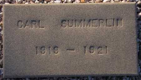 SUMMERLIN, CARL - Maricopa County, Arizona | CARL SUMMERLIN - Arizona Gravestone Photos