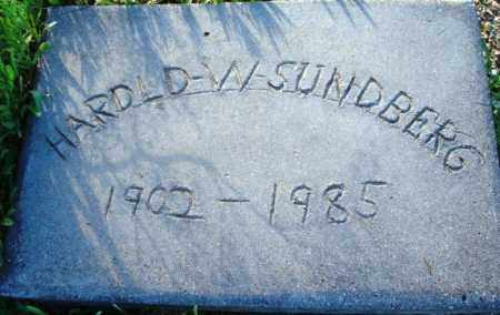 SUNDBERG, HAROLD W. - Maricopa County, Arizona   HAROLD W. SUNDBERG - Arizona Gravestone Photos