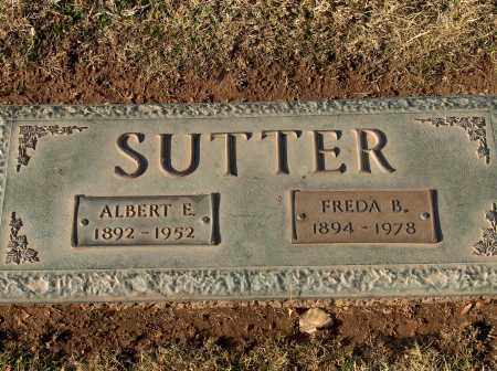 SUTTER, ALBERT ELMER - Maricopa County, Arizona | ALBERT ELMER SUTTER - Arizona Gravestone Photos