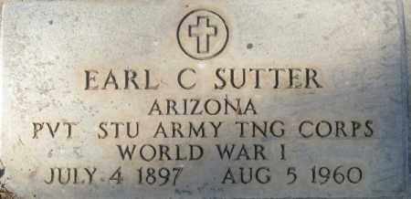 SUTTER, EARL CLIFFORD - Maricopa County, Arizona | EARL CLIFFORD SUTTER - Arizona Gravestone Photos