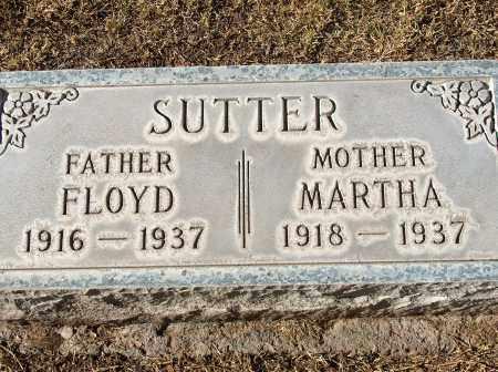 JONES SUTTER, MARTHA JANE - Maricopa County, Arizona | MARTHA JANE JONES SUTTER - Arizona Gravestone Photos
