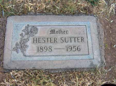 JONES SUTTER, HESTER PATIENCE - Maricopa County, Arizona | HESTER PATIENCE JONES SUTTER - Arizona Gravestone Photos