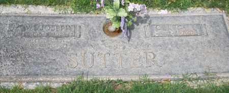 "SUTTER, WILBUR JOSEPH ""JOE"" - Maricopa County, Arizona 