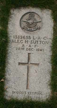 SUTTON, ALEC H. - Maricopa County, Arizona | ALEC H. SUTTON - Arizona Gravestone Photos