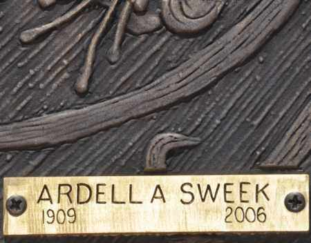 SWEEK, ARDELL A. - Maricopa County, Arizona | ARDELL A. SWEEK - Arizona Gravestone Photos