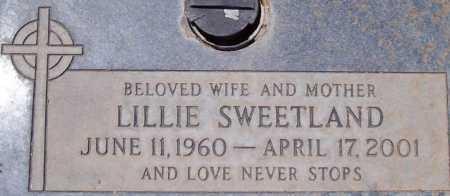 SWEETLAND, LILLIE - Maricopa County, Arizona | LILLIE SWEETLAND - Arizona Gravestone Photos