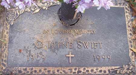 SWIFT, G. IRENE - Maricopa County, Arizona | G. IRENE SWIFT - Arizona Gravestone Photos