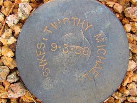 SYKES, TIMOTHY MICHAEL - Maricopa County, Arizona | TIMOTHY MICHAEL SYKES - Arizona Gravestone Photos