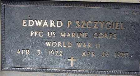 SZCZYGIEL, EDWARD P. - Maricopa County, Arizona | EDWARD P. SZCZYGIEL - Arizona Gravestone Photos
