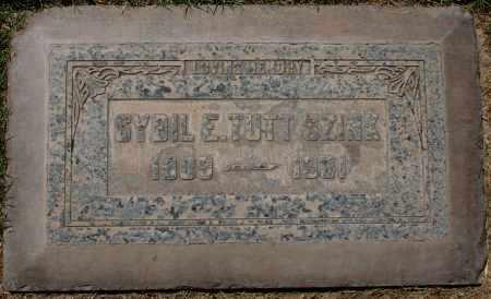 TUTT SZINK, SYBIL E. - Maricopa County, Arizona   SYBIL E. TUTT SZINK - Arizona Gravestone Photos