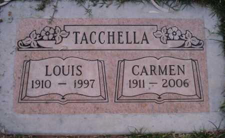 TACCHELLA, CARMEN - Maricopa County, Arizona | CARMEN TACCHELLA - Arizona Gravestone Photos