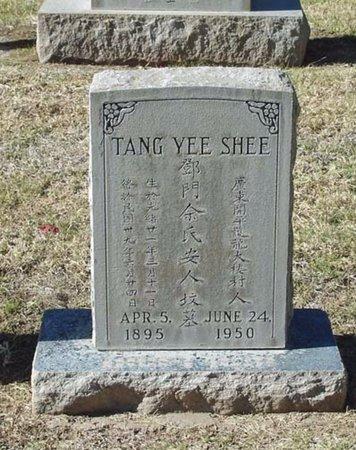 TANG, YEE SHEE - Maricopa County, Arizona   YEE SHEE TANG - Arizona Gravestone Photos