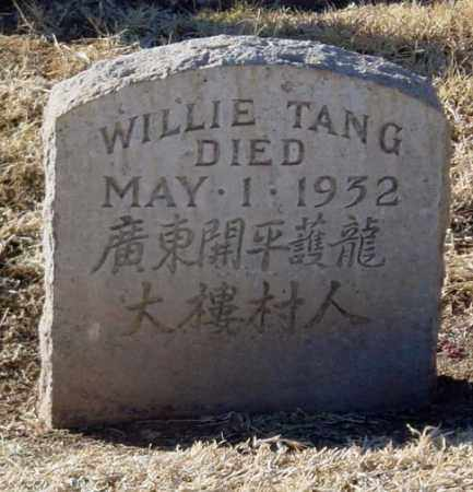 TANG, WILLIE - Maricopa County, Arizona | WILLIE TANG - Arizona Gravestone Photos