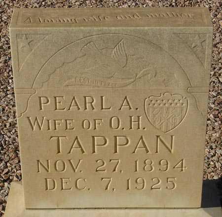 TAPPAN, PEARL A. - Maricopa County, Arizona   PEARL A. TAPPAN - Arizona Gravestone Photos