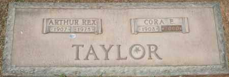 TAYLOR, CORA E - Maricopa County, Arizona   CORA E TAYLOR - Arizona Gravestone Photos