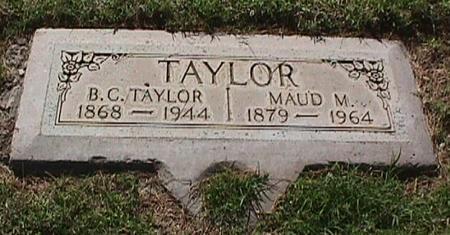 TAYLOR, MAUD M. - Maricopa County, Arizona | MAUD M. TAYLOR - Arizona Gravestone Photos