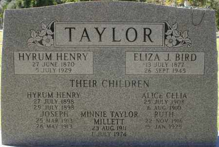 TAYLOR, ELIZA J - Maricopa County, Arizona | ELIZA J TAYLOR - Arizona Gravestone Photos
