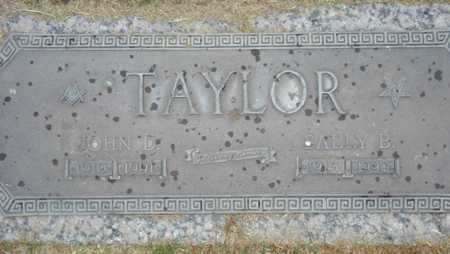 TAYLOR, JOHN D. - Maricopa County, Arizona | JOHN D. TAYLOR - Arizona Gravestone Photos