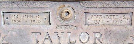 TAYLOR, ELIZABETH S. - Maricopa County, Arizona | ELIZABETH S. TAYLOR - Arizona Gravestone Photos
